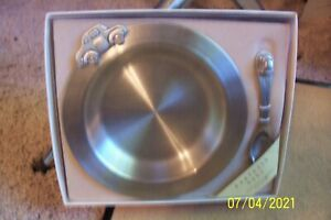 Danforth Baby - Handcrafted in Vermont - Fine Pewter Bowl and Spoon - NEW