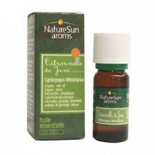NatureSun Aroms - Huile Essentielle Citronnelle de Java - 10 ml