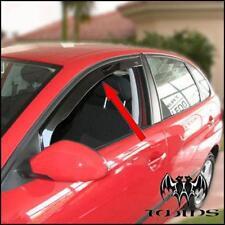 Deflettori Aria Antiturbo Oscurati Seat Ibiza 6L 2002-2008 5 porte anteriori
