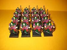 Warhammer Fantasy - Waldelfen - Wood Elves - 16x Glade Guard Archers