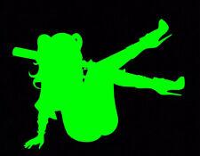 Green Suicide Squad Hahaha Joker Harley Quinn Mad Love Gotham Batman Decal