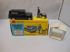 Corgi Toys Gift Set 448 B.M.C Mini Police Van With tracker dog MIB