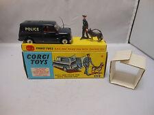 CORGI TOYS Gift Set 448 B.M.C Mini Furgone della Polizia con Tracker cane Nuovo di zecca con scatola