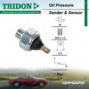 Tridon Oil Pressure Light Switch for Smart ForTwo Roadster R452 0.6L 0.7L