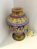 Gualdo Tadino Majolica Pottery Cooperativa Ceramisti Brand with Lustre finish