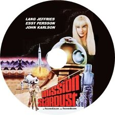Mission Stardust (1967 Sci-Fi film) Mod Dvd disc only