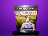 Matt Simmons Energy Banker Saudi Oil Presentation & Interviews DVD B455