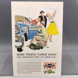 Vintage Magazine Ad Print Design Advertising Chevrolet Automobiles