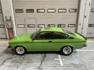 "Opel Kadett C Coupe GT/E ""GLOW IN THE DARK"" Schiebedach Tuning Umbau Code3 1:18"