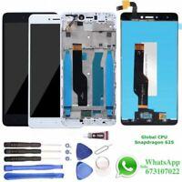 Pantalla para Xiaomi Redmi Note 4X 4 Marco LCD + Tactil Snapdragon Blanca Negra