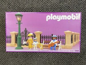 Playmobil 5360 Vintage Victorian Mansion Fencing NEW in box SEALED