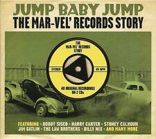 JUMP BABY JUMP THE MAR-VEL' RECORDS STORY - 2 CD BOX SET - BOBBY SISCO & MORE