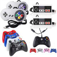 For PC Windows Mac Games Xbox 360 / SNES / NES USB Controller Gamepad Joystick