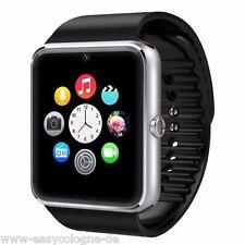 SeaKingAlphaGT08 SmartWatch Armband Uhr für Android + Silber  Bluetooth Wireless