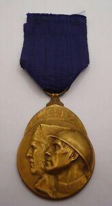 BELGIUM / BELGIAN WW1 VOLUNTEER COMBATANTS MEDAL 1914 - 1918 (A)