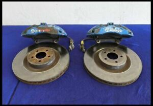 2015-2021 Ford Mustang 6 Piston Performance Pack Brembo Brakes Caliper Front