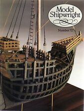 Model Shipwright No 72  (Conway 1990 1st)