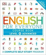 English for Everyone: Level 4: Advanced, Course Book (Paperback or Softback)