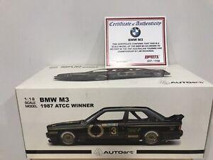 1/18 BMW M3 1987 ATCC WINNER JIM RICHARDS