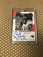 """2008 PRESS PASS  CLYDE """" THE GLIDE """" DREXLER  SELECT SIGNATURES ON CARD AUTO"""