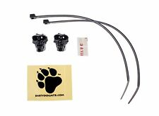 Dirty Dog Skull Road Mountain MTB Bicycle Housing Hose Bike Cable Guides Black