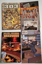 Garth Ennis Lot,Set,Run- 303, Wormwood, Spider-Man, War Story, Rifle Brigade