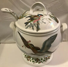 Portmeirion Birds Of Britain Soup Tureen With Lid And Ladle