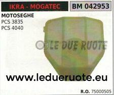 75000505 FILTRO ARIA COMPLETO MOTOSEGA IKRA MOGATEC PCS 3835 4040