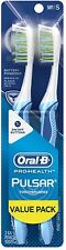 Oral-B Pro-Health Pulsar Soft Toothbrush, Value Pack 2 ea