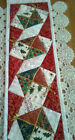 CHRISTMAS Patchwork TABLE Runner Pre cut FABRIC KIT and PATTERN MAKE YOURSELf