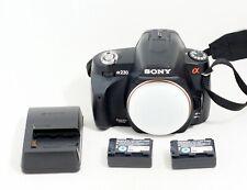 Sony Alpha A230 Digital SLR DSLR Camera Body ONLY 12k SHUTTER COUNT