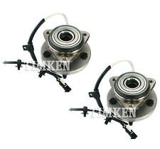Pair Set of 2 Front Timken Wheel Bearing and Hub Kit for Ford Ranger 10-11 4WD