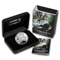 New Zealand - 2013 - 1 OZ Silver Proof Coin-   Kiwi  Coins -  Kiwi Coin