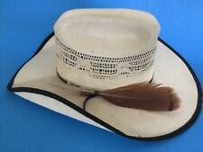 Summit Hat Cowboy Straw Rare 100X Special Edition Calidad Bangora Western Molded