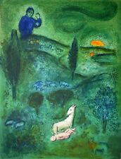 Marc Chagall, Daphnis and Chloé, Hand Signed Lithograph