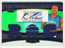 2006-07 Topps Triple Threads Kyle Lowry Emerald Jersey Patch Auto Rookie Rc /50