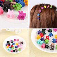 30x Mix couleur enfants bébé Mini fleur cheveux griffe pince cheveux access_fr