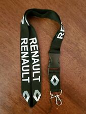 Renault Lanyard Detachable Clip Keychain Brand New 22 Inches Black Color