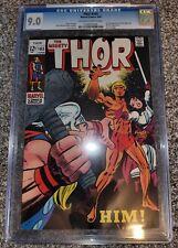 Thor #165 CGC 9.0 1969, 1st full app. Adam Warlock, GOTG 3 Movie Coming!