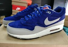 Nike Air Max 1 Deep Royal Blue Suede 2012 QS DS OG Rare 95 97 98 90 uk8