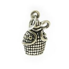 925 Sterling Silver Canteen Charm Made in USA