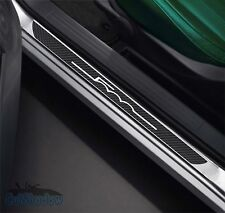 FIAT 500 / Carbon Optik Einstiegsleisten / Style / Schriftzug Farbe wählbar