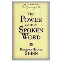 THE POWER OF THE SPOKEN WORD Florence Scovel Shinn FREE SHIPPING paperback book