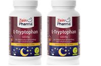 L-Tryptophan, 500mg 180 Kapseln (80 %) Natürliches ,Tryptophan