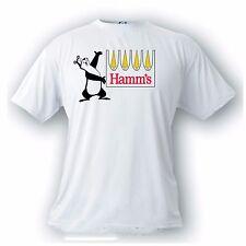 Hamm's beer bear vintage image t-shirt. land of sky blue water