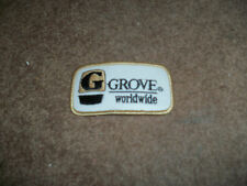GROVE WORLDWIDE CRANES PATCH
