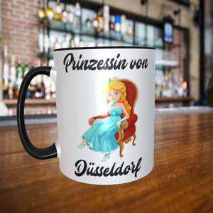 Prinzessin von Düsseldorf Tasse