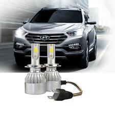 FITS HYUNDAI SANTA FE 2007+2x H7 Headlight Kit LED BULLET Bulbs PURE WHITE 6500K