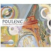 GRAY,ANTONY-POULENC: COMPLETE MUSIC FOR SOLO PIANO  CD NEW&SEALED