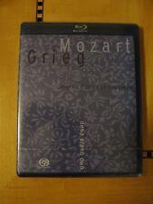 Grieg - Mozart - Dena Piano Duo - Super Audio CD SACD Hybrid + Blu-Ray Disc